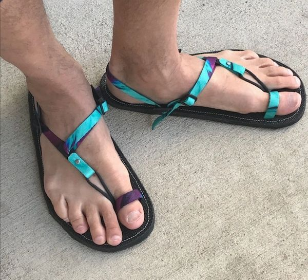 Toe Buckle Sandal