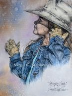 drawings and paintings of cowgirls, western art, rodeo cowgirls, ranch cowgirls, pencil drawings