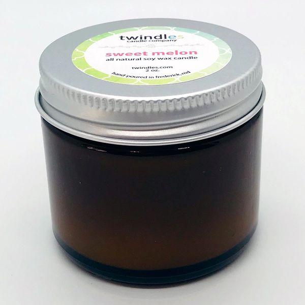 Bargain Bin | 2 OZ. Amber Jar | Sweet Melon | TWINDLES