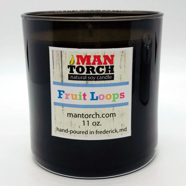 Fruit Loops SOY CANDLE | 50+ HR BURN TIME