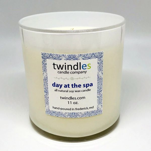Bargain Bin | DAY AT THE SPA SOY CANDLE | 50+ HR BURN TIME