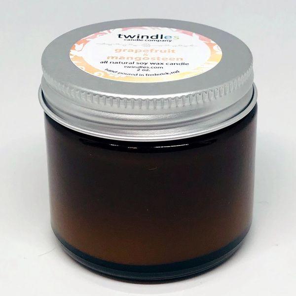 Bargain Bin | 2 OZ. Amber Jar | Grapefruit & Mangosteen | TWINDLES