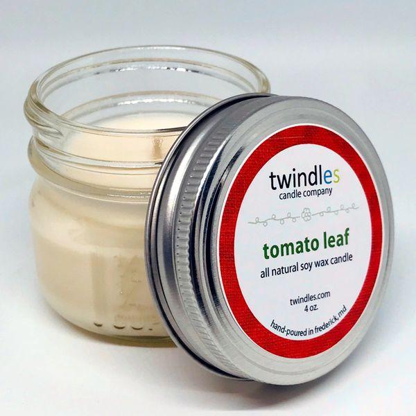 Bargain Bin | 4 OZ. Mason Jar | Tomato Leaf | TWINDLES
