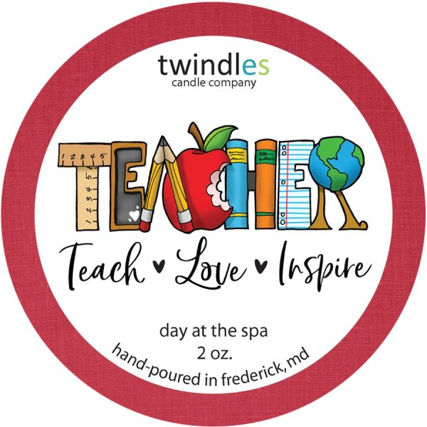 Teachers Appreciation 2 OZ. TIN | TWINDLES