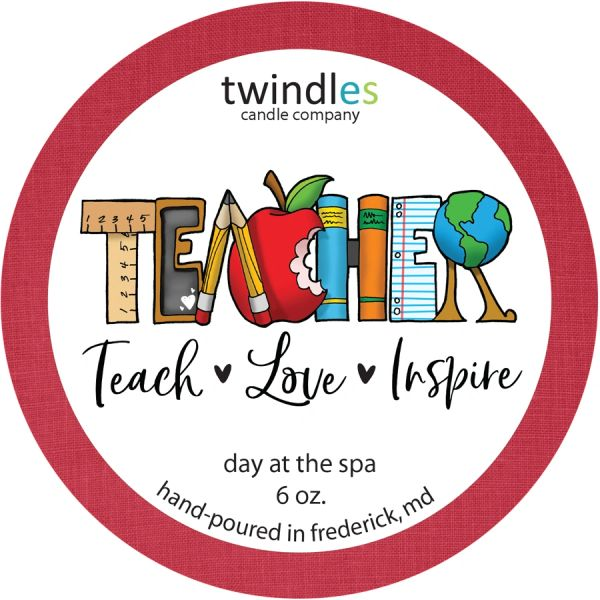 TEACHERS APPRECIATION 6 OZ. TIN | TWINDLES