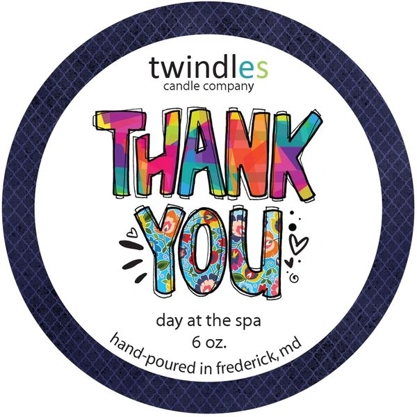 Thank You 6 OZ. TIN | TWINDLES