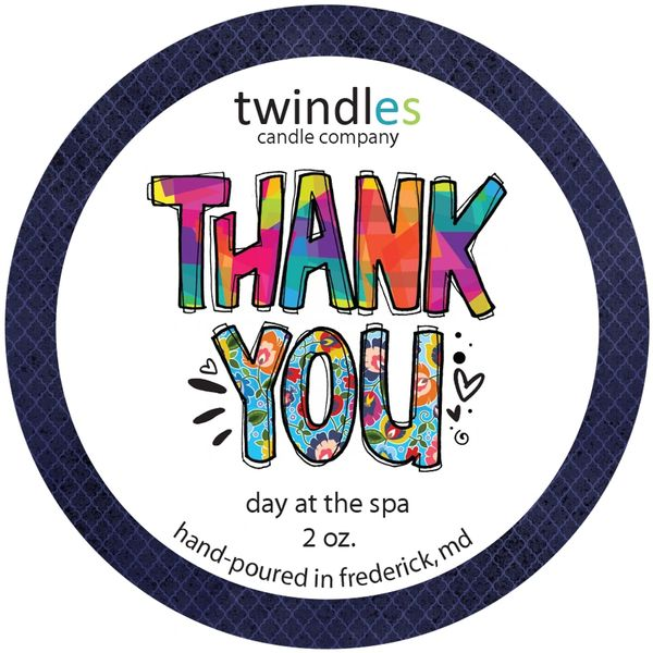 Thank You 2 OZ. TIN | TWINDLES