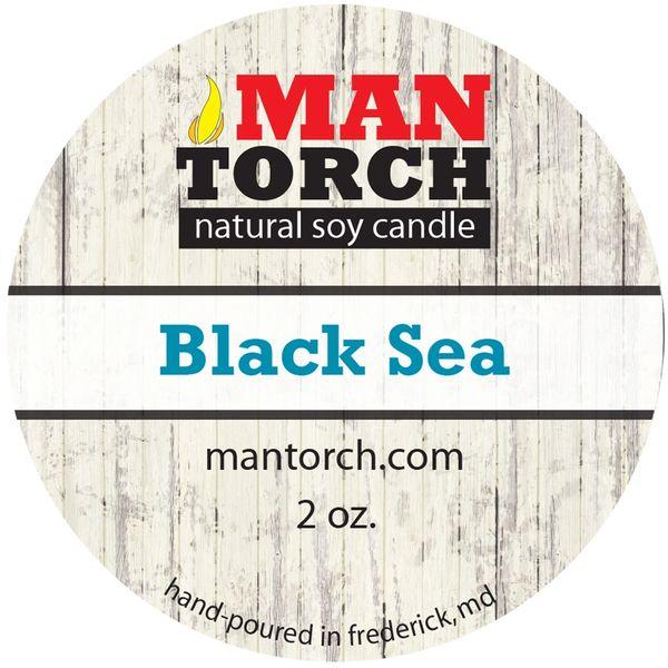Bargain Bin | 2 OZ. BLACK SEA NATURAL SOY CANDLE
