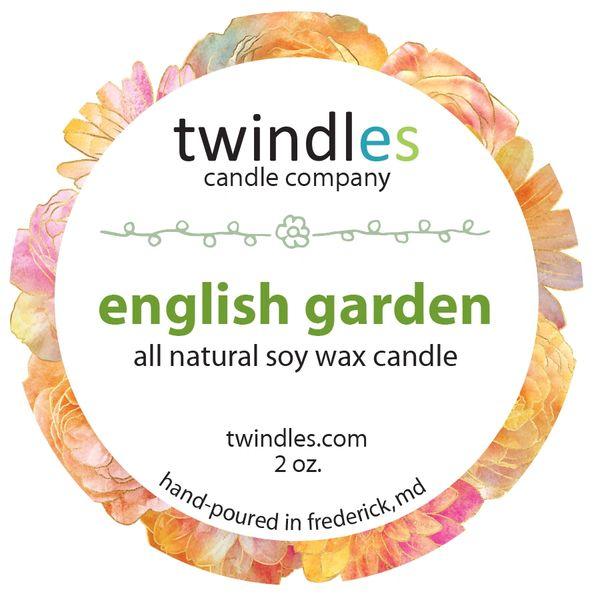 Bargain Bin | 2 OZ. TIN | ENGLISH GARDEN | TWINDLES