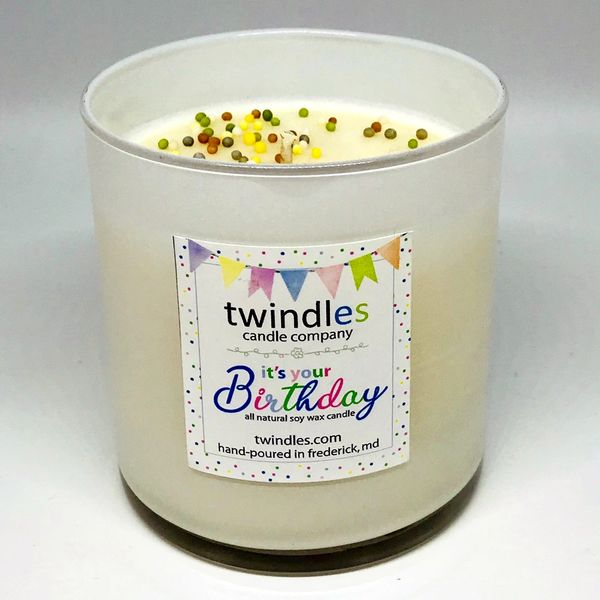 Bargain Bin | IT'S YOUR BIRTHDAY SOY CANDLE | 50+ HR BURN TIME