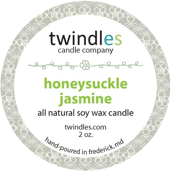 Bargain Bin | honeysuckle jasmine | 2 oz. travel tin | 12+ hr burn time