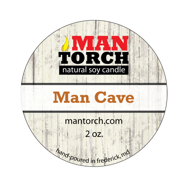 2 oz. Man Cave Natural Soy Candle