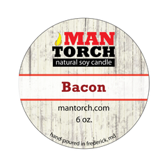6 oz. Bacon Natural Soy Candle