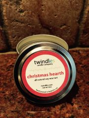 christmas hearth 2 oz. tin