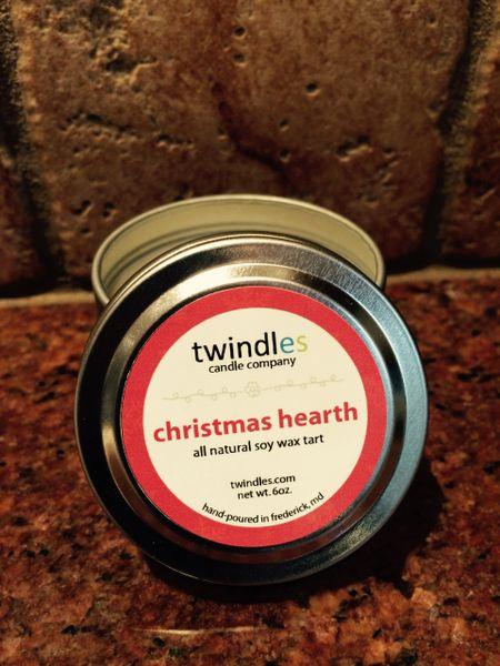 christmas hearth 2 oz. tin