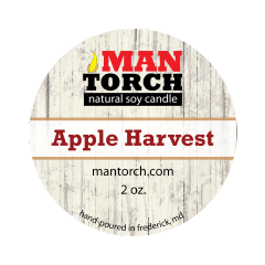 2 oz. Apple Harvest Natural Soy Candle - Mantorch