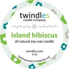 2 oz. tin - island hibiscus - twindles