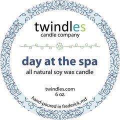 6 oz. tin - day at the spa - twindles