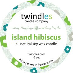 6 oz. - island hibiscus - twindles