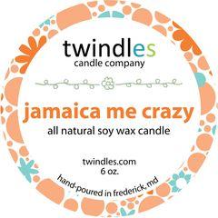 6 oz. tin - jamaica me crazy - twindles