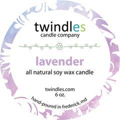 6 oz. tin - lavender - twindles