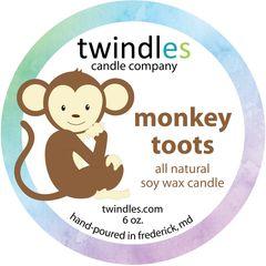 6 oz. - monkey toots - twindles