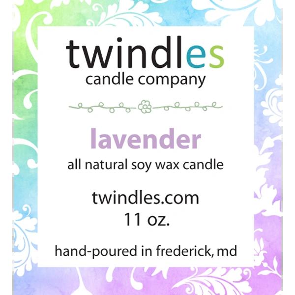 lavender soy candle | 50+ hr burn time