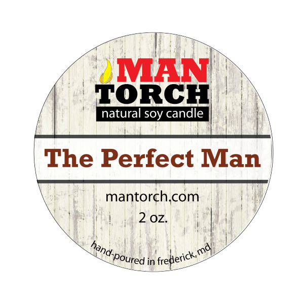 2 oz. The Perfect Man Natural Soy Candle