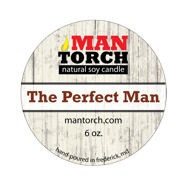 6 oz. The Perfect Man Natural Soy Candle