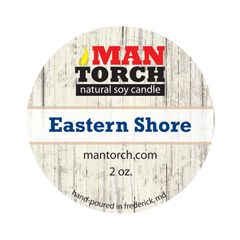 2 oz. Eastern Shore Natural Soy Candle