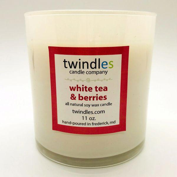 white tea & berries | 50+ hr burn time