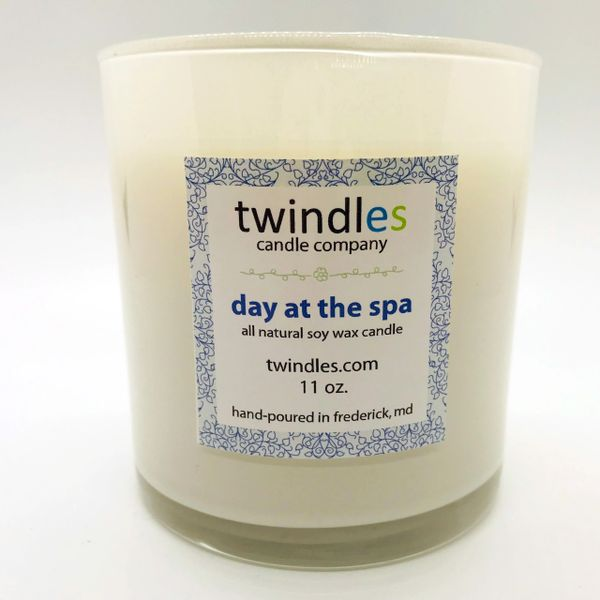 day at the spa soy candle | 50+ hr burn time