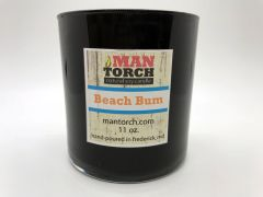 Beach Bum soy candle | 50+ hr burn time