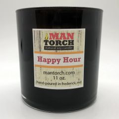 Happy Hour soy candle | 50+ hr burn time