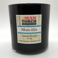 Man-illa soy candle | 50+ hr burn time