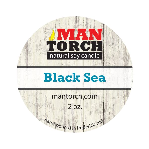 2 oz. Black Sea Natural Soy Candle