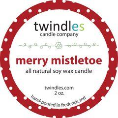 merry mistletoe 2 oz. tin