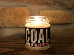 Coal soy candle | 4 oz. glass jar | 20
