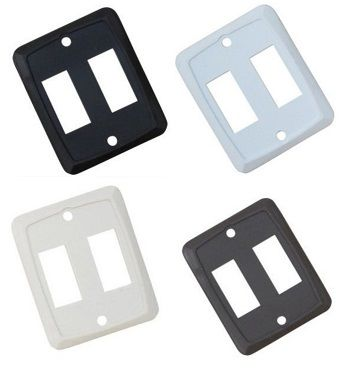 Double Switch Wall Plate