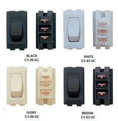 12 VDC Interior Switch, On / On