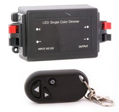 12 Volt Light / LED Dimmer Module, with Remote, RMDIM