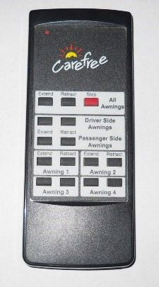 Carefree Apex Awning Remote, Quad Awning, 433 MHz, R001394