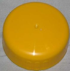 Thetford Cassette C2 and C4 Dump Cap, Yellow, 33160