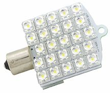 1156 LED Bulb, 25 LED's, 175 Lumens, Daylight White, L05-0012