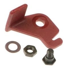 Atwood Mobile Products Single Pane Window Latch, Red, B081CK