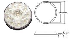 LED Backup Light, 10 LED, L03-0063