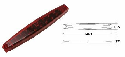 LED Tail Lamp, 20 LED, L03-0057