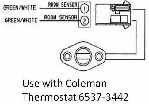 Coleman Room Temperature Sensor 6537-3191