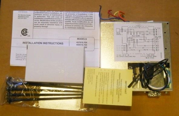 Dometic Duo-Therm Bi-Metal Control Kit with Thermostat 3104998.020