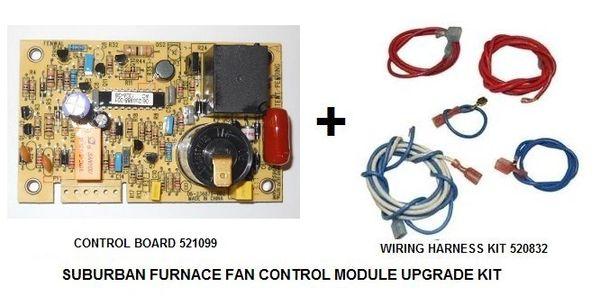 Suburban Furnace Fan Control Module Upgrade Kit 520832  U0026 521099